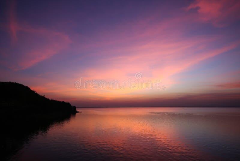 Multikleur van wolk en hemel stock foto