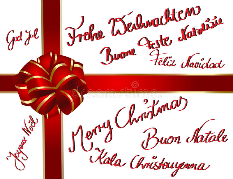 Download Multilingual Christmascard Stock Images - Image: 20244684