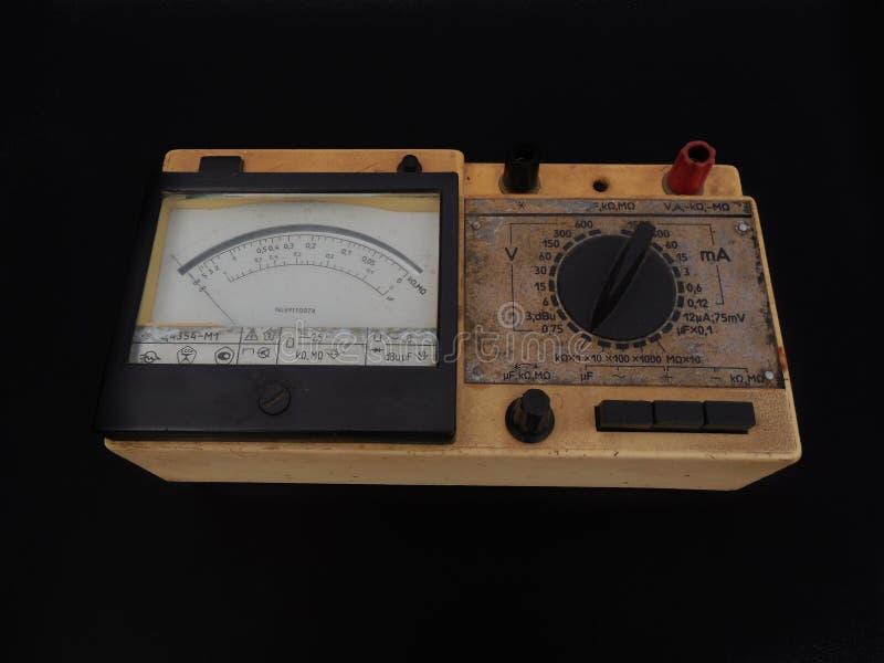 Multimètre analogique photo libre de droits