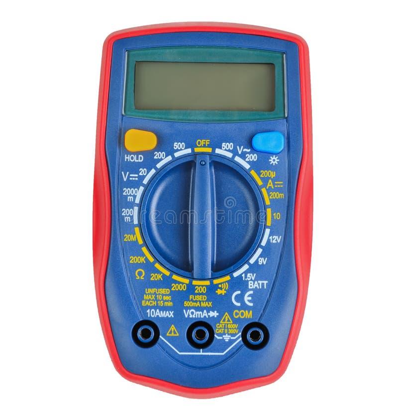 Multimètre de Digital, instrument de mesure photographie stock libre de droits