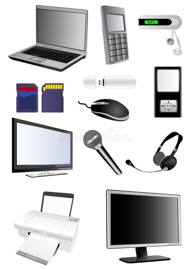Multimedia stock abbildung