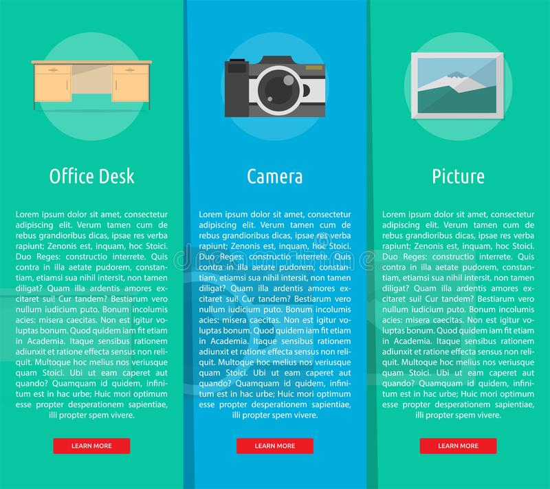 Multimedia Banner Concept. Multimedia Banner Design   Set of Great Banner Design for multimedia, technology, concept, animation and much more stock illustration