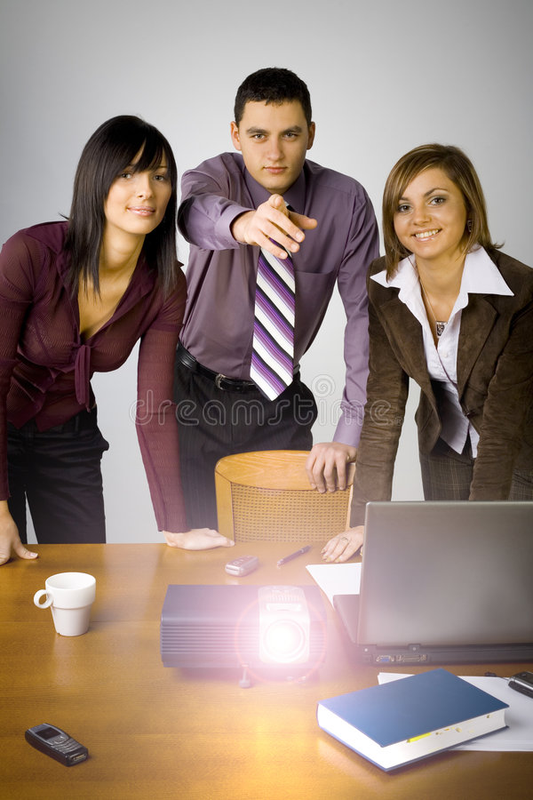 multimedia business presentation stock photo image 1999052