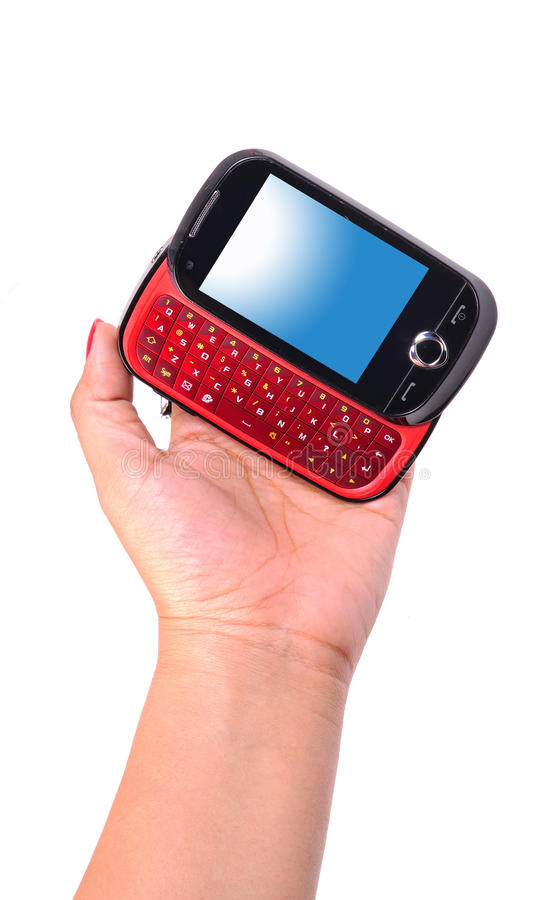 Multimedia Mobile Phone Stock Photography