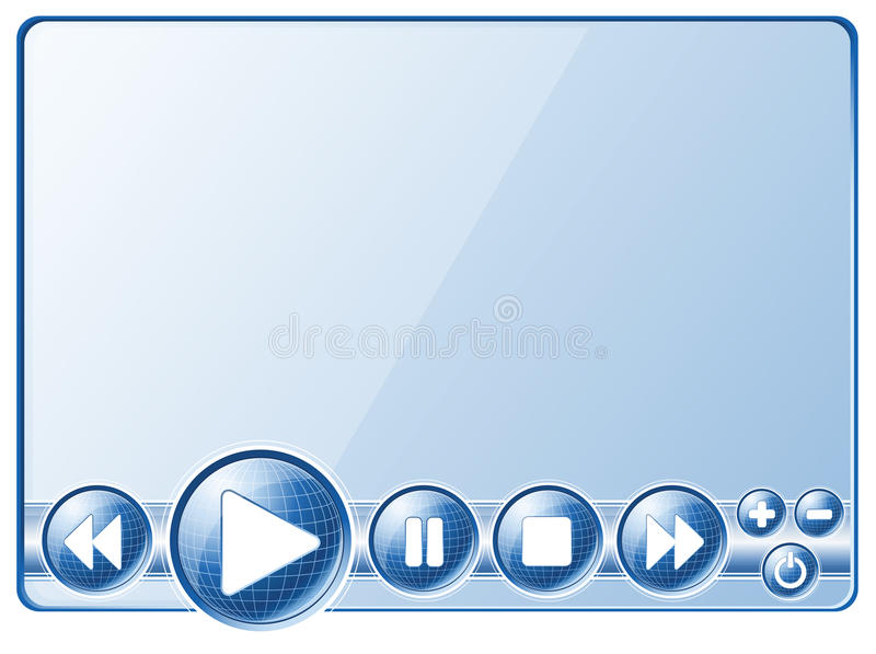 Download Multimedia Player Controls Stock Image - Image: 20626901