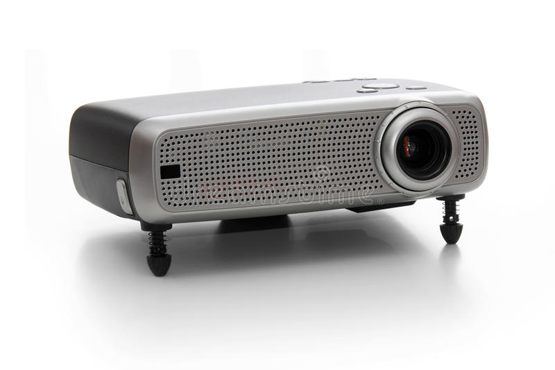 Multimedia projector royalty free stock photography