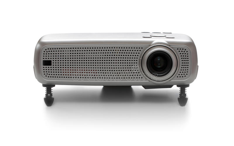 Download Multimedia projector stock image. Image of grey, lens - 13864739