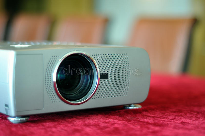 Multimedia projector stock images