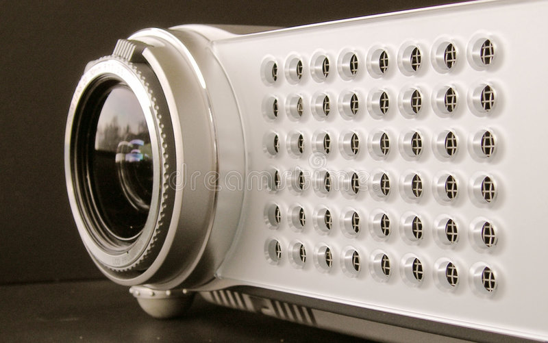 Multimedia projector royalty free stock images