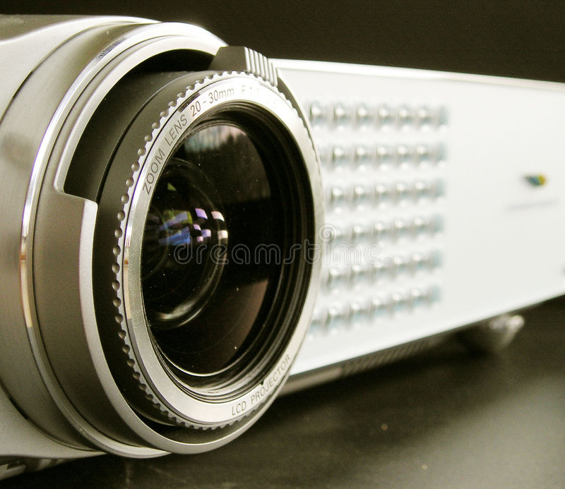 Download Multimedia projector stock photo. Image of computer, close - 225510