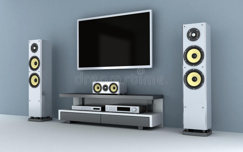 Multimedia-room Stock Images