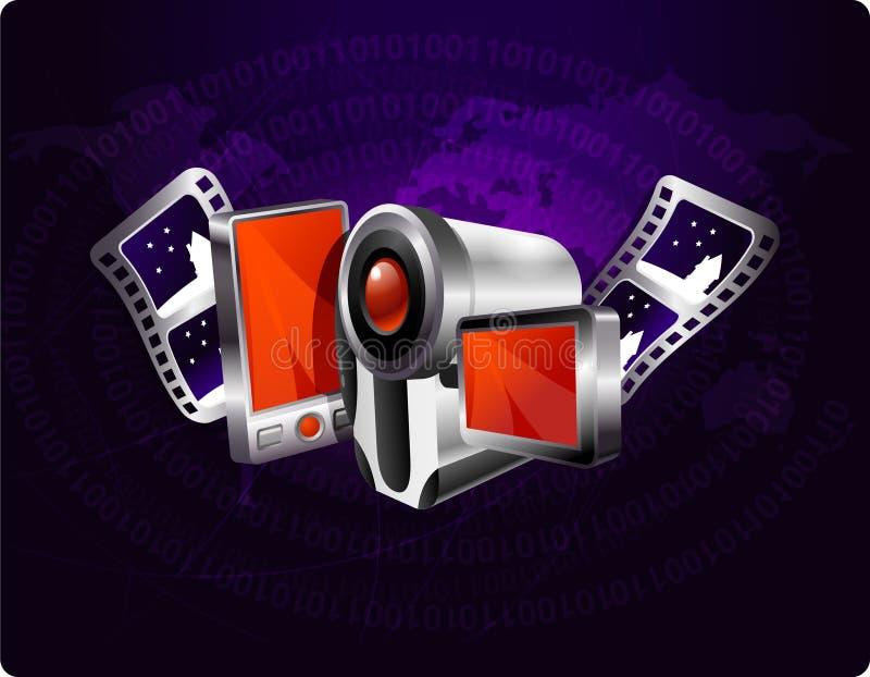 Multimediahintergrund lizenzfreie abbildung