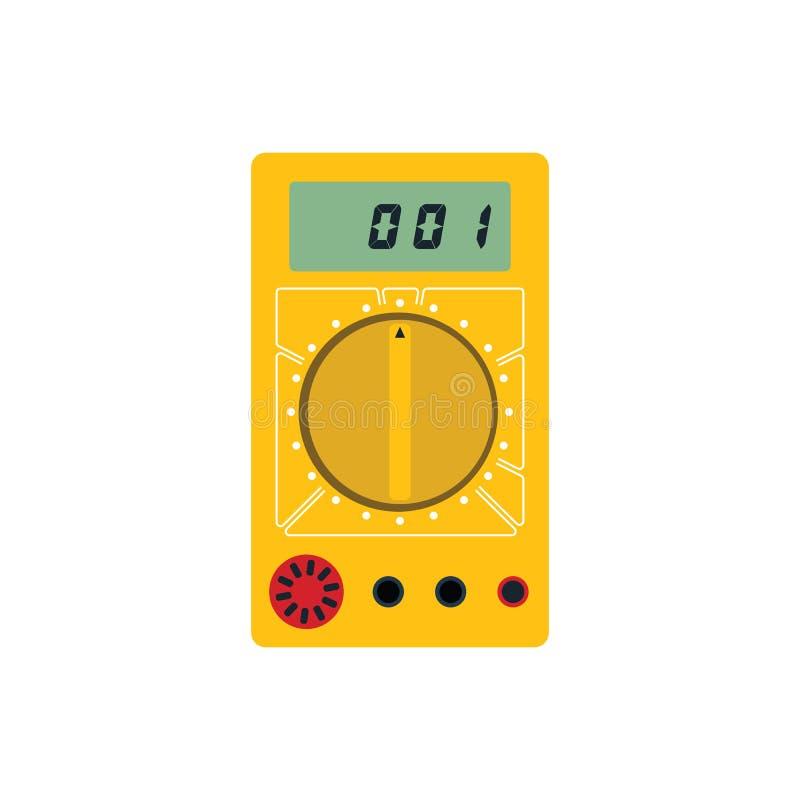 Multimeter ikona royalty ilustracja
