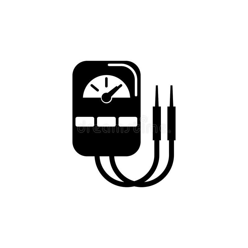 Multimeter voltmeter icon stock vector. Illustration of illustration ...