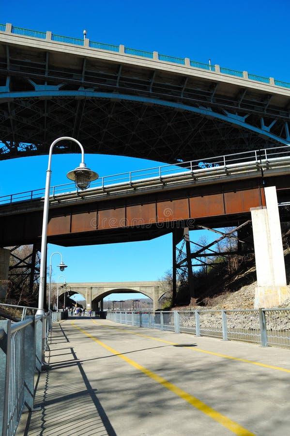 Multiple Bridges Royalty Free Stock Photography