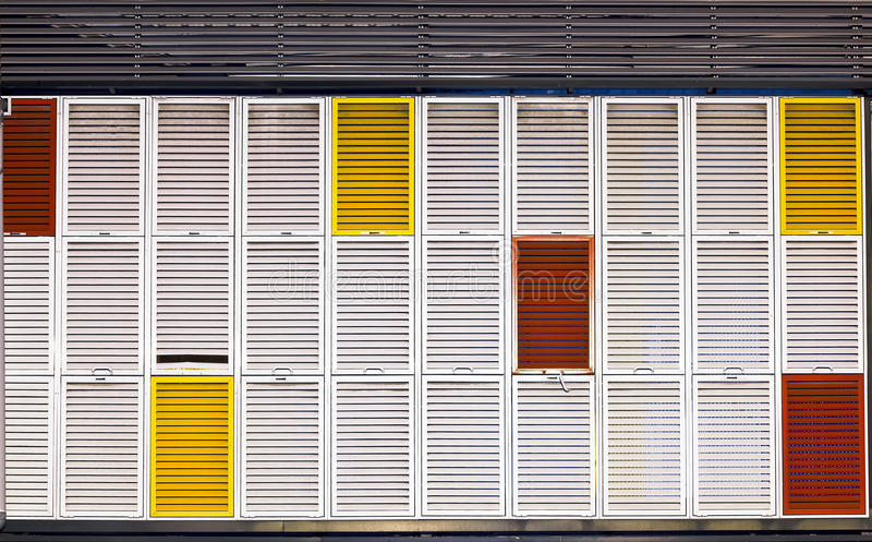 Download Multiple Colors Shutters Royalty Free Stock Photos - Image: 22401348