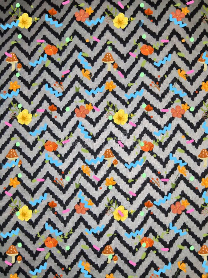 It is a multiple coloured background wool full frame pattern seamless pattern close up royalty free stock photography