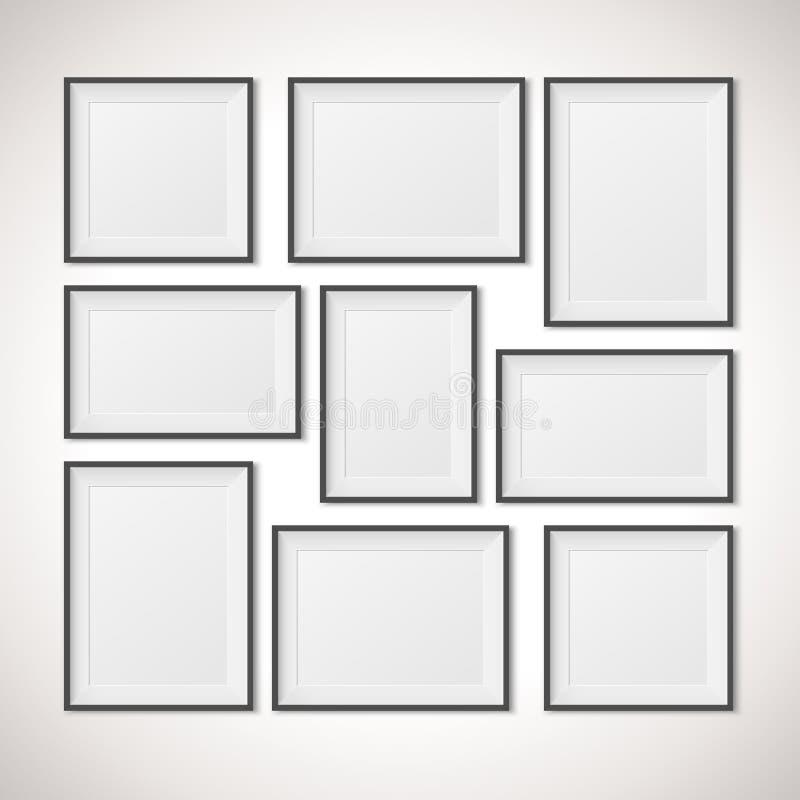 Multiple Frames stock vector. Illustration of blank, grey - 54666873