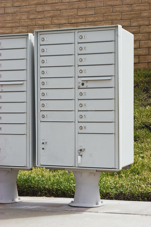 Multiple Mailboxes royalty free stock images