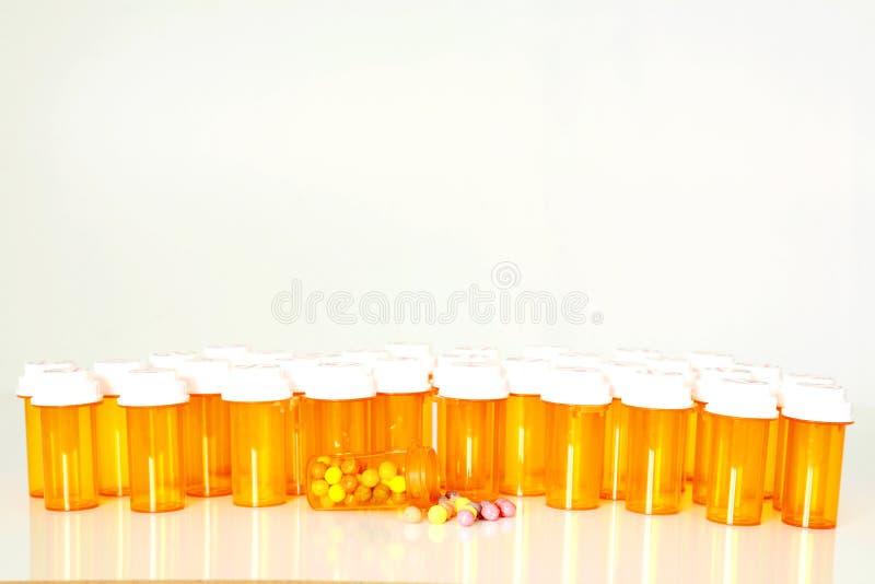 Download Multiple Prescription Drug Bottles Royalty Free Stock Images - Image: 21022309