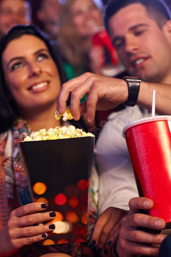Download Multiplex movie theater stock photo. Image of couple - 26496298