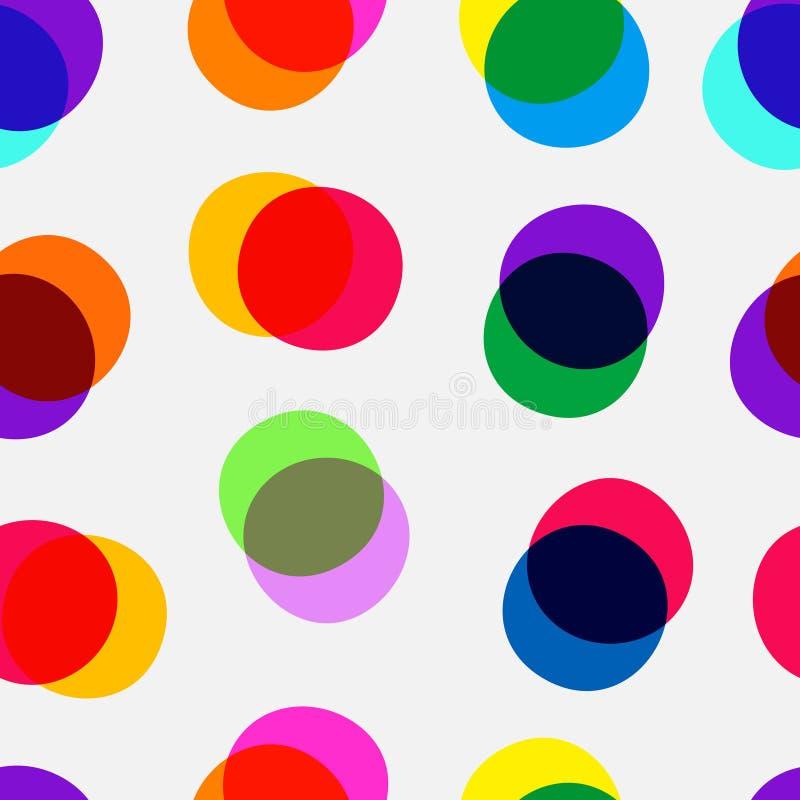 Multiplique Dots Pattern fotos de stock royalty free