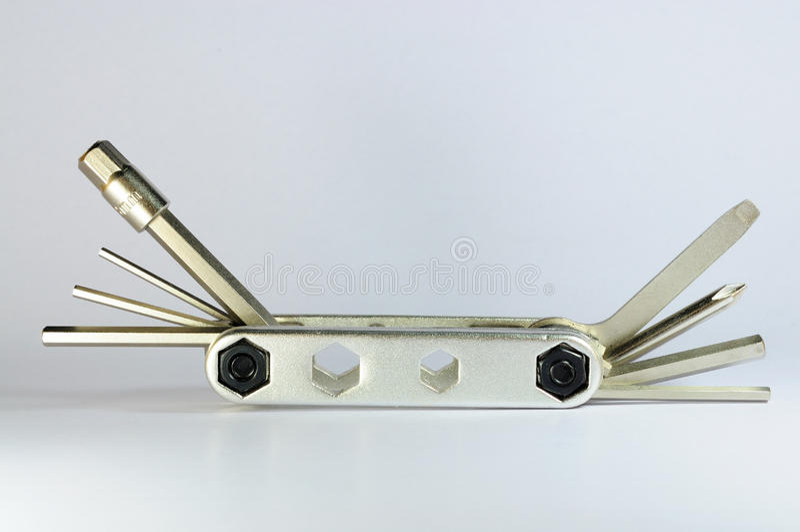 Multipurpose pocket tool royalty free stock image