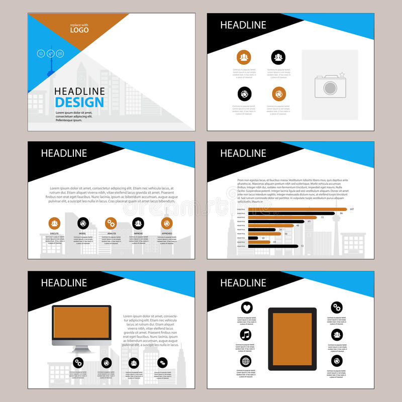 multipurpose template for presentation slides with graphs and charts, Spe Presentation Template, Presentation templates