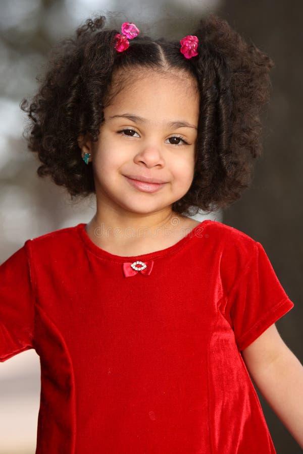multiracial barn arkivfoto