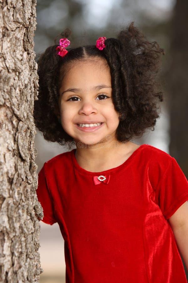 multiracial barn arkivbild