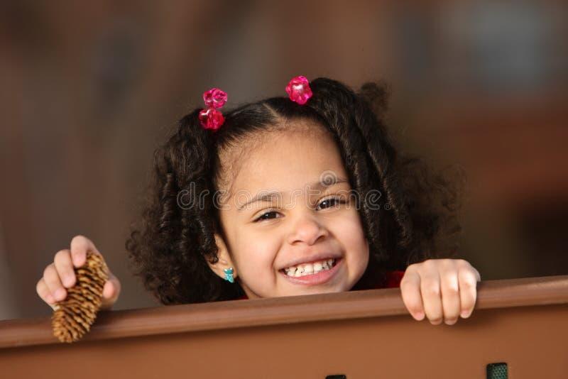 multiracial barn royaltyfri fotografi