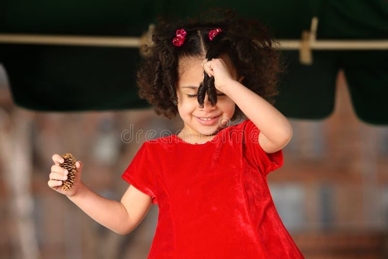 multiracial barn royaltyfria bilder