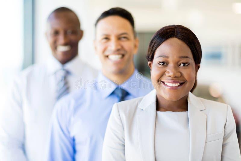 Multiracial biznes drużyna obrazy stock