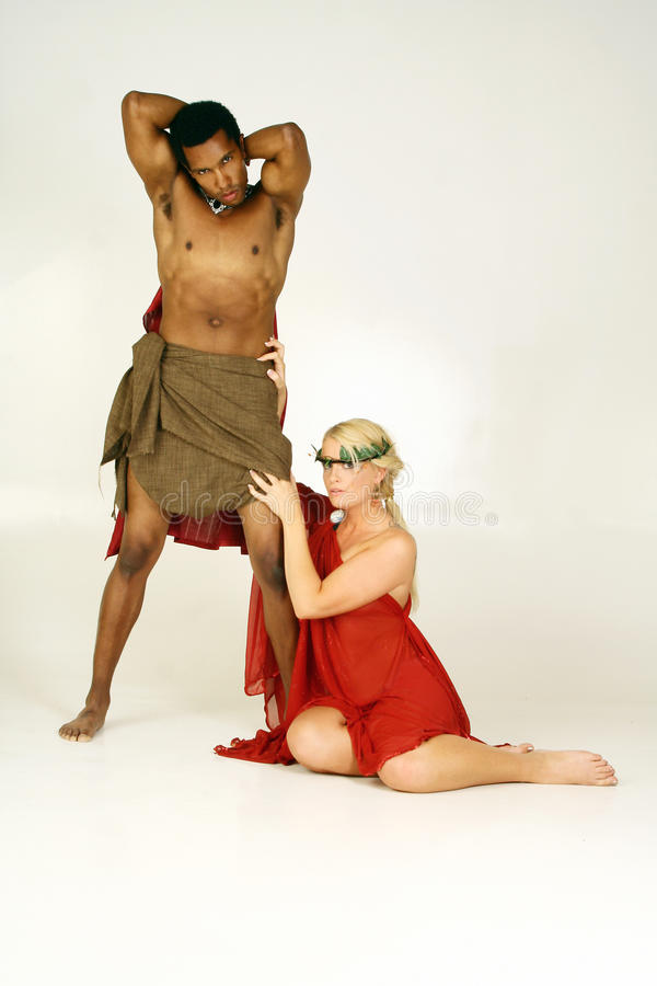Multiracial Couple stock photo