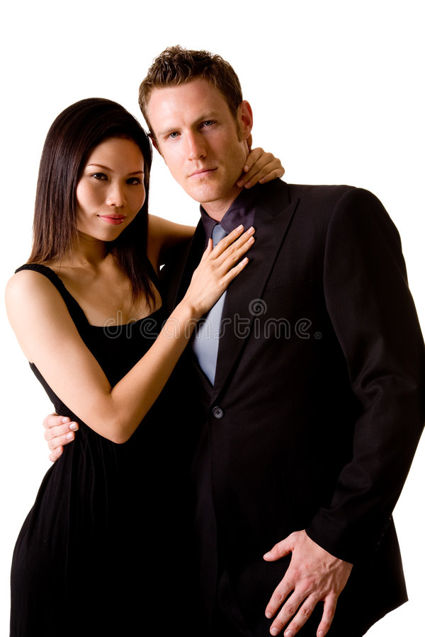Multiracial Couple Royalty Free Stock Photos