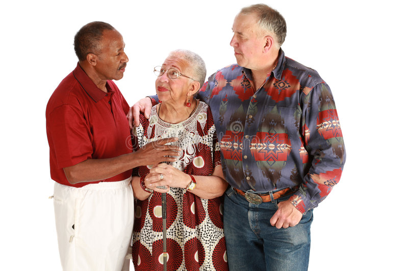 Multiracial Friends Stock Photography