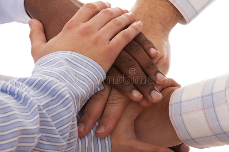 Download Multiracial hands stock image. Image of african, agreement - 9949795