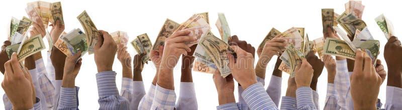 Multiraciale handen royalty-vrije stock afbeelding
