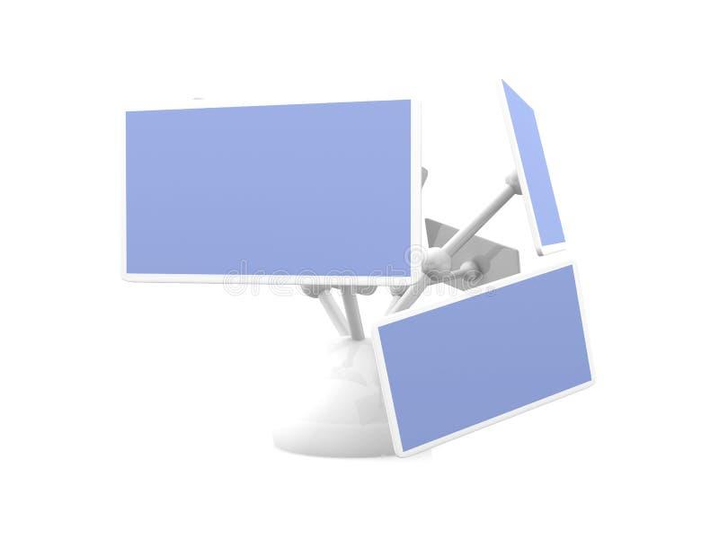 Multiscreen vektor abbildung