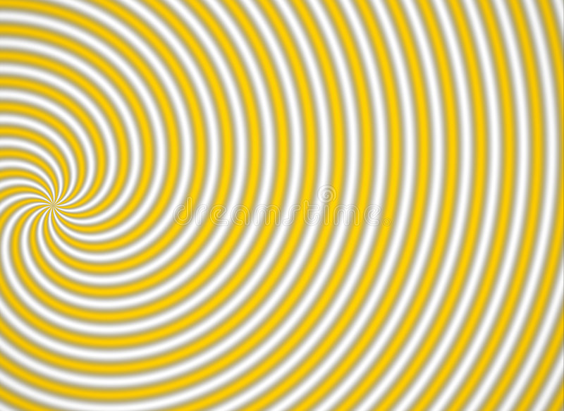 multispiral κίτρινος στοκ φωτογραφία με δικαίωμα ελεύθερης χρήσης