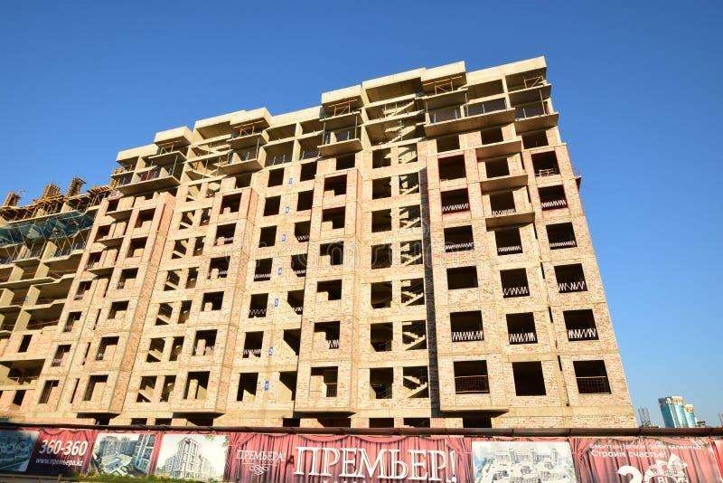 Multistorey будучи построенным здание стоковая фотография rf