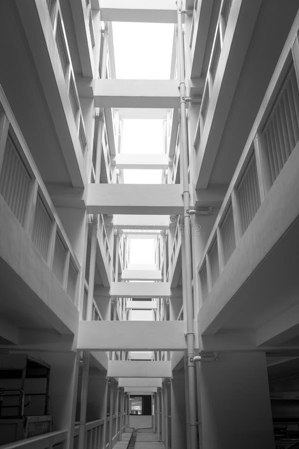 Multistorey здание стоковые изображения
