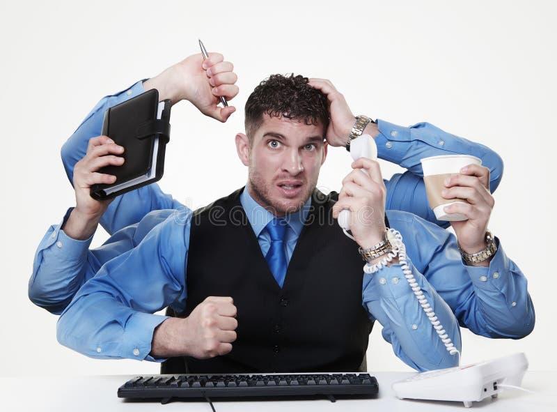 Multitasking stock photos