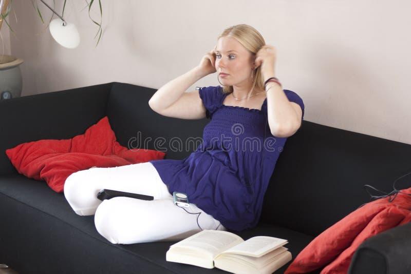 Multitasking teen