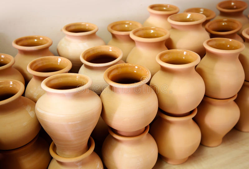 Multitude Of Pottery Royalty Free Stock Photo