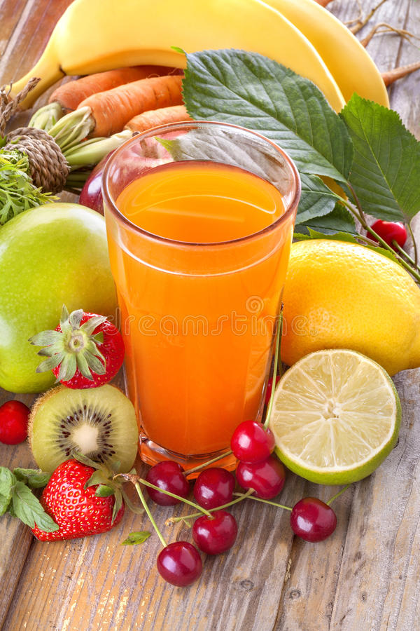 Free Multivitamin Juice Stock Image - 40941181