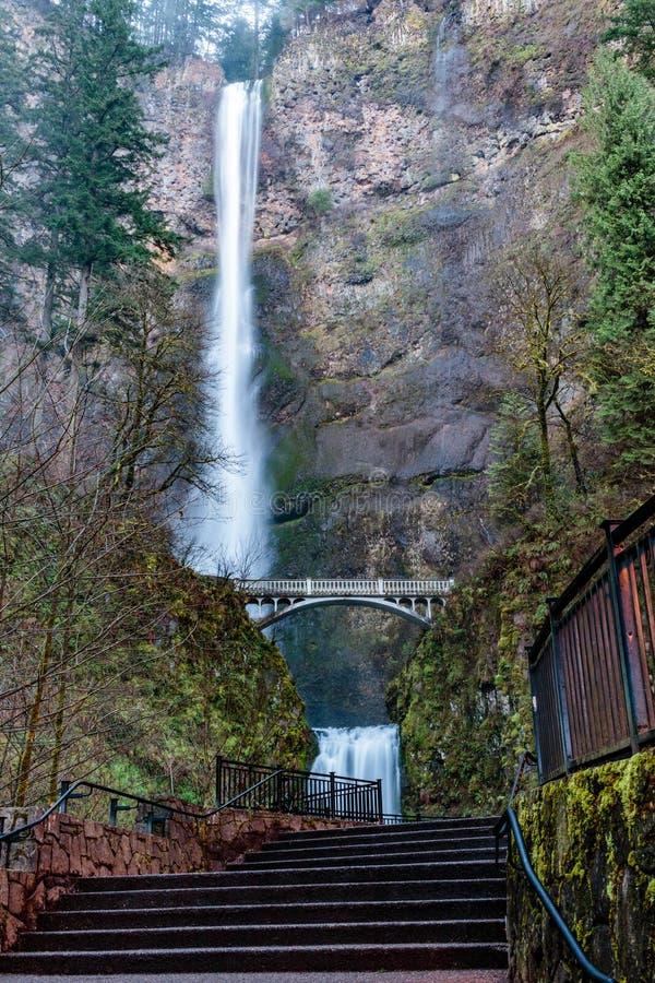 Multnomah baja en Oregon fotos de archivo