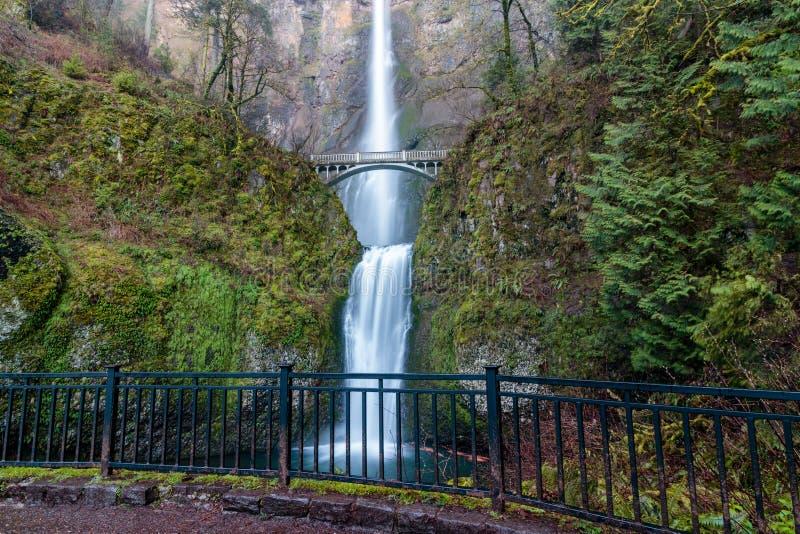 Multnomah baja en Oregon imagen de archivo