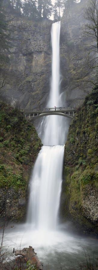 Multnomah Fälle, Kolumbien-Fluss-Schlucht, Portland - stockfotos