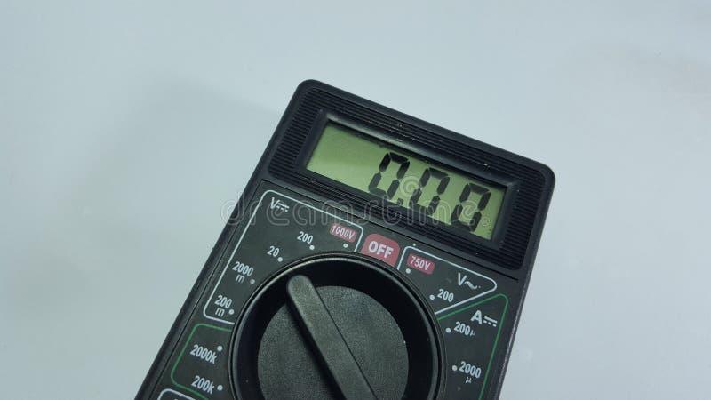 Multy tester, utrustning för elektronisk tekniker som ut finner skada arkivfoton